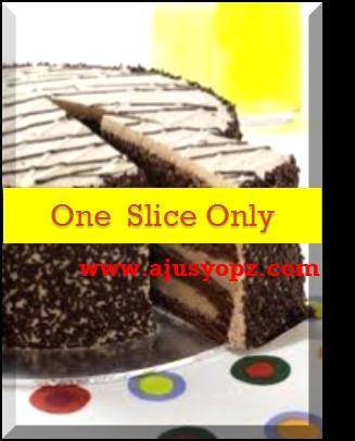 One slice cake tidak membuatkan anda gemuk