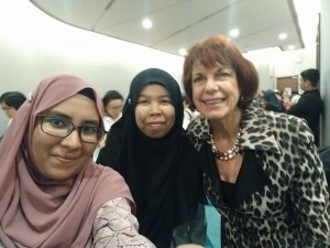 Aju, Ms Sue & Ms Frances Fuller